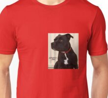 Staffy and Proud Unisex T-Shirt