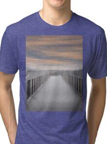 Beach Boardwalk Tri-blend T-Shirt