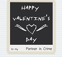 Partner in Crime - Card Simple by SallyDiamonds