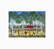 """Day at the Cricket""    SOLD Original Acrylic Painting EJCairns  Unisex T-Shirt"