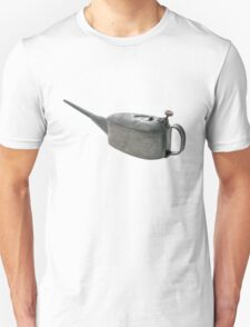 Vintage Oil Container Dirty and Used Unisex T-Shirt