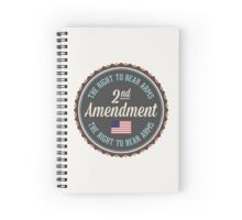 Second Amendment Spiral Notebook