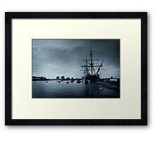 THE HMS Warrior 1860 Framed Print