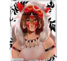 San- princess mononoke iPad Case/Skin