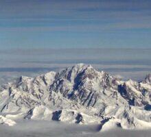 Mont Blanc Sticker