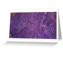 Purple Haven Greeting Card