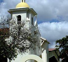 St Peters Church  Rockhampton  Qld by sandysartstudio