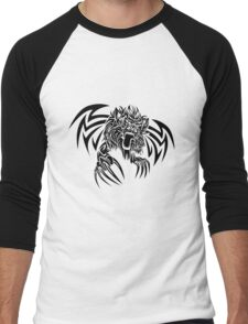 Wild animal tattoo Men's Baseball ¾ T-Shirt