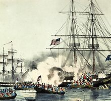 American privateer General Armstrong - Currier & Ives - 1856 by CrankyOldDude