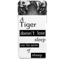 Tigers and Sheep iPhone Case/Skin