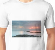 Sunset by the Sound of Jura Unisex T-Shirt