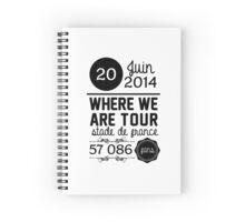 20 Juin - Stade de France WWAT Spiral Notebook