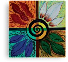 Four Seasons of Eternity Canvas Print
