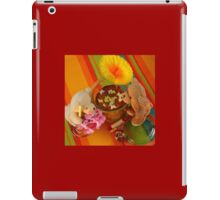 Bears with Birthday Cake Verrine  iPad Case/Skin