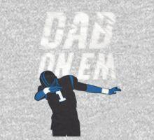 Dab On Em Carolina Panthers One Piece - Long Sleeve