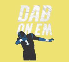 Dab On Em Carolina Panthers Kids Tee