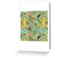 Jungle Adventure Greeting Card