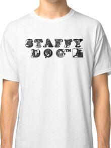 Staffy Dog Logo Classic T-Shirt
