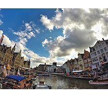 Gent-Belgium Photographic Print