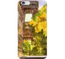 Paris Painted iPhone Case/Skin