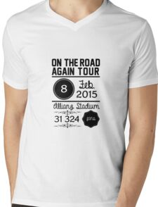 8th february - Allianz Stadium OTRA Mens V-Neck T-Shirt