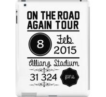 8th february - Allianz Stadium OTRA iPad Case/Skin