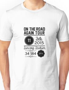 11th February - Suncorp Stadium  Unisex T-Shirt