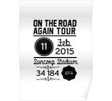11th February - Suncorp Stadium  Poster