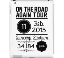 11th February - Suncorp Stadium  iPad Case/Skin