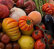 Heirloom Tomatoes by Michael Moriarty