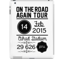 14th February - Etihad Stadium OTRA iPad Case/Skin