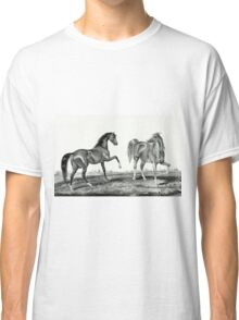 American trotting stud - Ethan Allen, Pocahontas - Currier & Ives - 1866 Classic T-Shirt