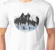 Cross Country Skiing Unisex T-Shirt