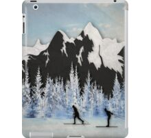 Cross Country Skiing iPad Case/Skin