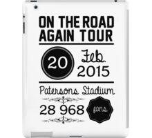 20th February - Patersons Stadium OTRA iPad Case/Skin