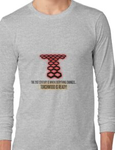 Torchwood - The 21st Century Is When Everything Changes... Long Sleeve T-Shirt