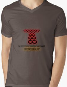 Torchwood - The 21st Century Is When Everything Changes... Mens V-Neck T-Shirt