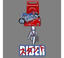 Stunt Rider Photographic Print
