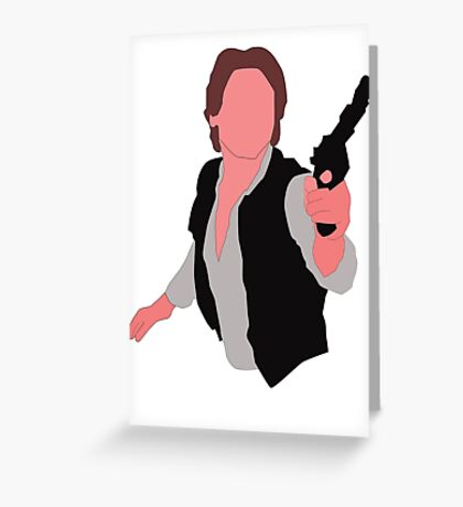 HAN SOLO Greeting Card