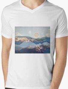 Rolling Mountains Mens V-Neck T-Shirt