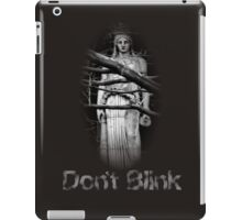 Don't Blink Weeping Angel  iPad Case/Skin