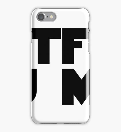 RTFM you must iPhone Case/Skin