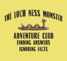 Loch Ness Monster Adventure Club - Simon Lewis Shirt Baby Tee