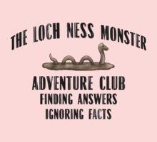 Loch Ness Monster Adventure Club - Simon Lewis Shirt One Piece - Long Sleeve