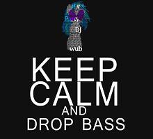 Vinyl Scratch - Keep Calm Drop Bass Typography Unisex T-Shirt