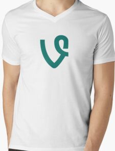 Vine Mens V-Neck T-Shirt