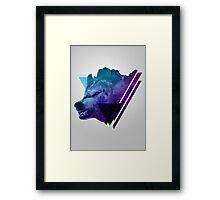 Height Fangs Framed Print