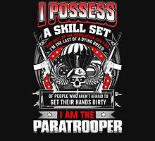 paratrooper, airborne, airborne mom, airborne brotherhood, airborne wife  Unisex T-Shirt