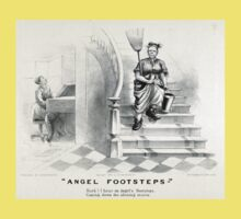 Angel footsteps - Currier & Ives - 1878 Baby Tee