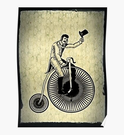 penny-farthing Poster